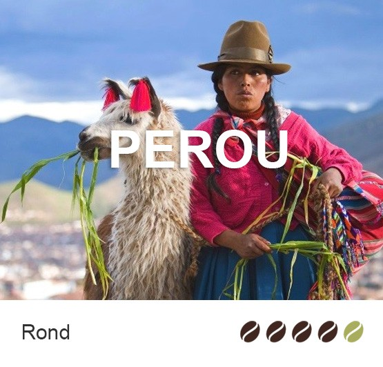 Café en grains du Pérou Bio