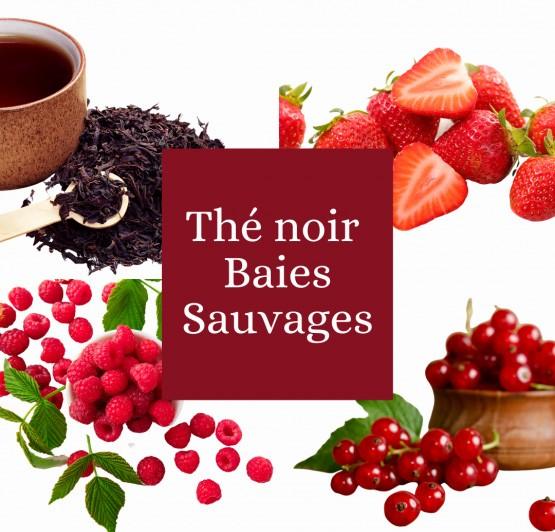 Thé noir aux Baies sauvages Bio
