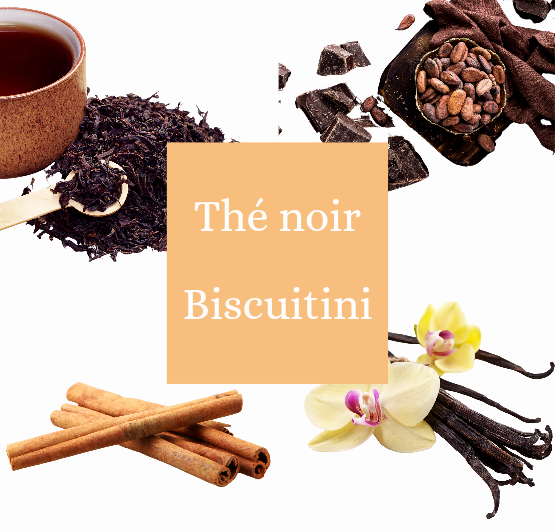 Thé noir chocolat vanille