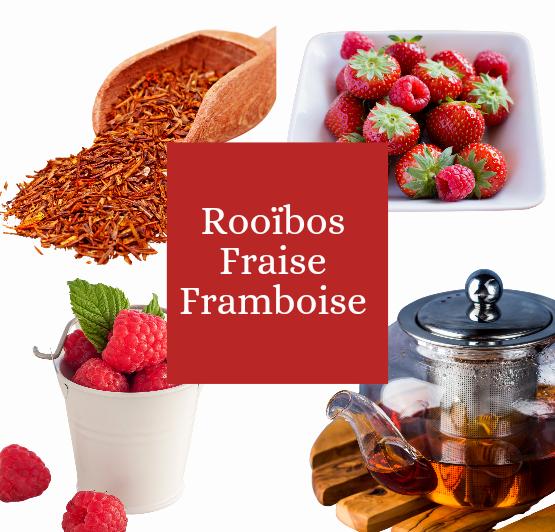 Rooibos fraise framboise