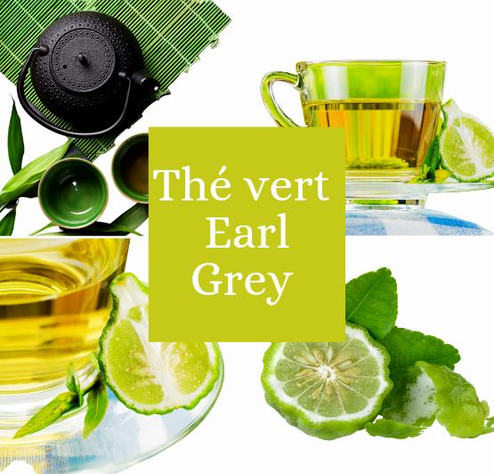 Thé vert Earl Grey Bio
