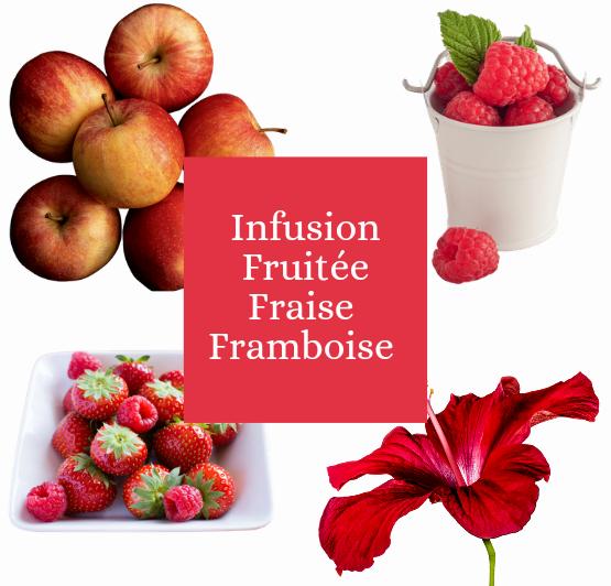 Infusion fruitée Fraise Framboise