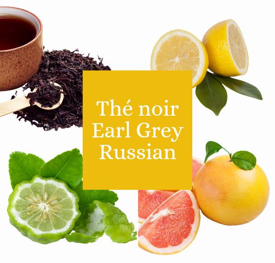 Thé noir Russian