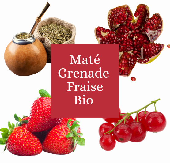 Maté grenade fraise
