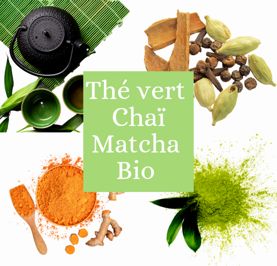 Thé vert Chai Matcha