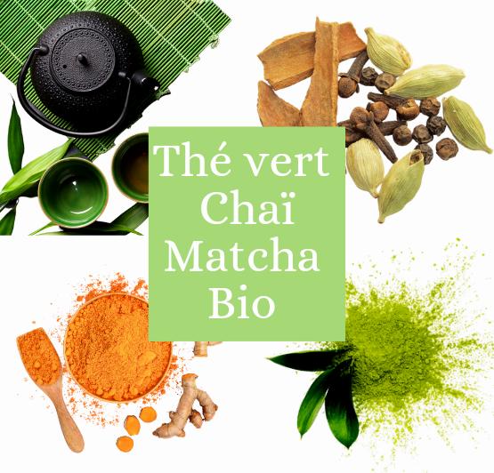 Thé vert Chai Matcha