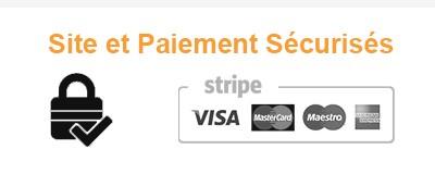 Site et paiement sécurisé.